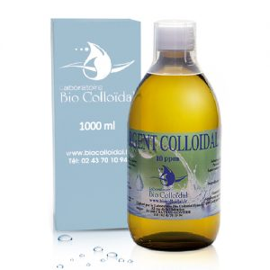 ARGENT COLLOIDAL 10 PPM 1 LITRE