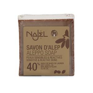SAVON ALEP HBL 40% 185G