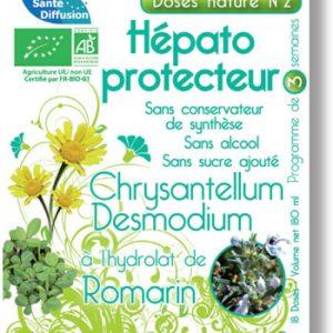 HEPATO PROTECTEUR  DOSES NATURE N2 18X10ML