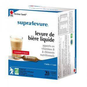 SUPRA LEVURE LIQUIDE BIO 20 AMPOULES DE 15ML
