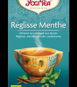TISANE REGLISSE MENTHE BIO YOGI TEA 17 INFUSETTES