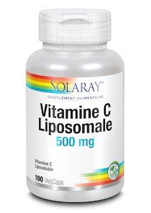 VITAMINE C LIPOSOMALE 500 MG 100 CAPSULES