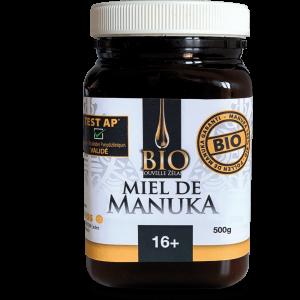 MIEL DE MANUKA 16+ BIO